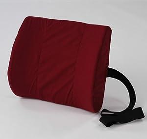 Lumbar Pillow - Black lumbar cushion