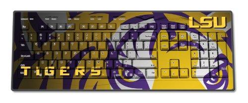 LSU Tigers Wireless USB Keyboard