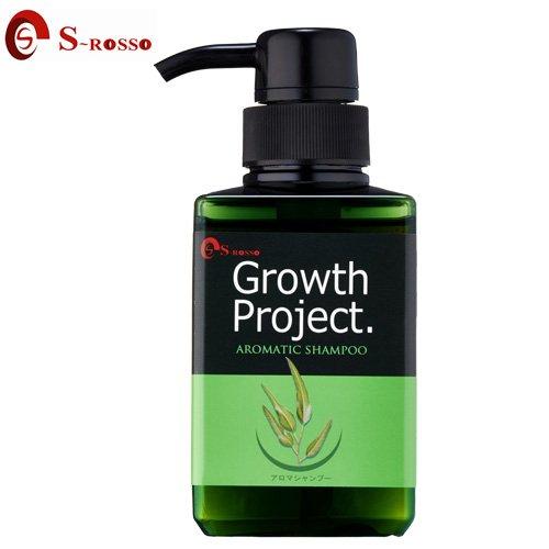 毛髪大作戦 Growth Project. アロマシャンプー 300ml 【育毛シャンプー】 メーカー:株式会社エスロッソ