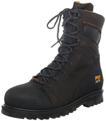 Timberland PRO 95553 Men's Rigmaster 8-in ST WP Boot Brown 5 W US