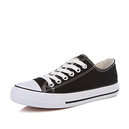 Chaussures femme en toile classique/Coupe d'été étudiant bas chaussures dentelle/Chaussures plates femmes