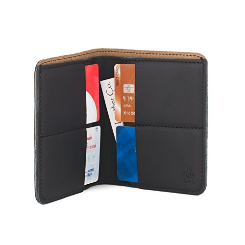 Saddleback Leather Large Bifold Wallet in Black
