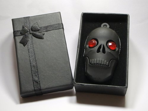 Black Skull 8GB USB Flash Drive