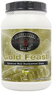Controlled Labs Lemon Drop Flavoured Gold Feast Meal Replacement Powder 1.5kg