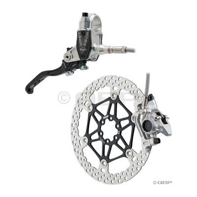 Hope Tech V2 Front Brake 203mm 74mm wPM Adapter