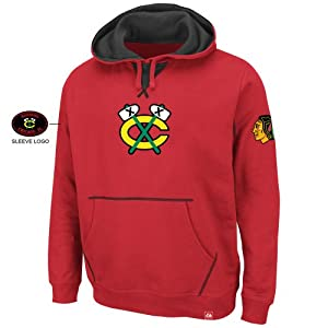 Chicago Blackhawks Sky High Sweatshirt by Majestic by Majestic