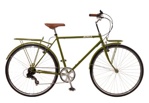City Bike , Commuting bicycle 700C , Olive Green , 18 inch, 7 speed ShimanoMen by Biria