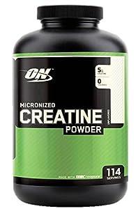 Optimum Nutrition Creatine Powder, Unflavored, 600g, 114 Servings