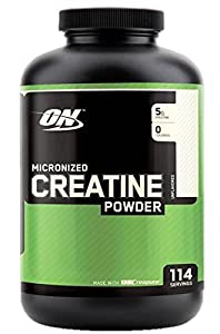 Optimum Nutrition Creatine Powder, Unflavored, 600g, 114 Servings