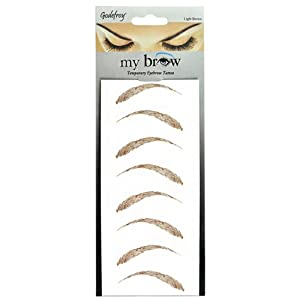 Godefroy My Brow Temporary Eyebrow Tattoo Light Brown ...
