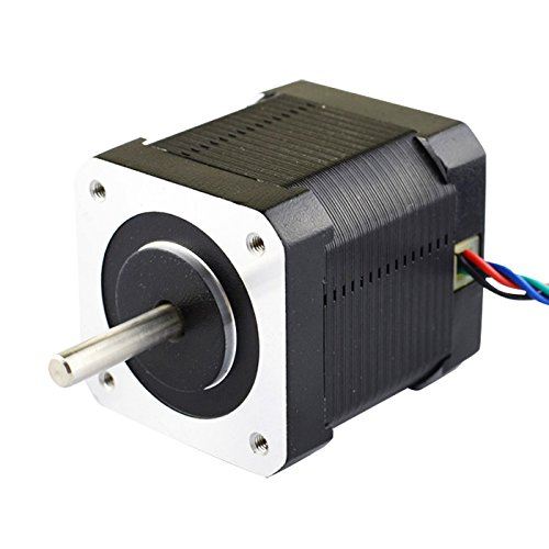 Nema 17 Stepper Motor Bipolar 2A 59Ncm(84oz.in) 48mm Body 4-lead 3D Printer/CNC by OSM Technology Co.,Ltd.