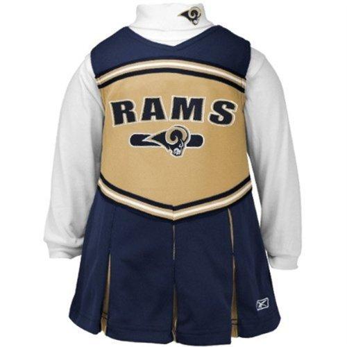 St. Louis Rams Baby Cheerleader Cheer Dress (6-9 Months) front-1041459