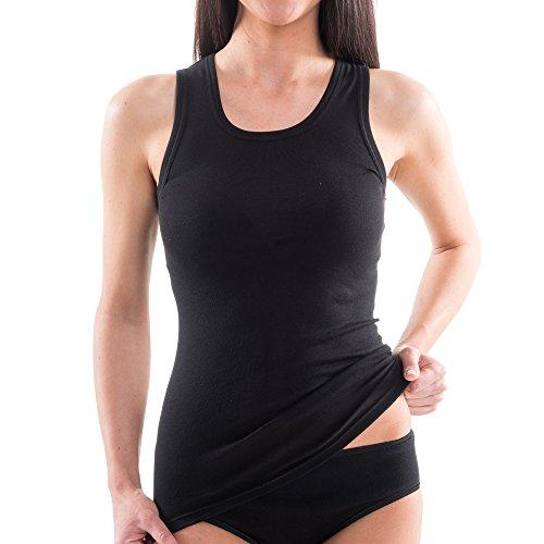 HERMKO-1325-Damen-Longshirt-in-Trend-Farben-aus-100-EU-Baumwolle-Tank-Top-auch-in-bergren-lngeres-Shirt-fr-drber-und-drunter