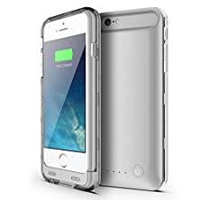buy Niubity Apple Mfi Certified Protective 4000Mah Li-Polymer Battery Case For Iphone 6 Plus/6S Plus - Silver