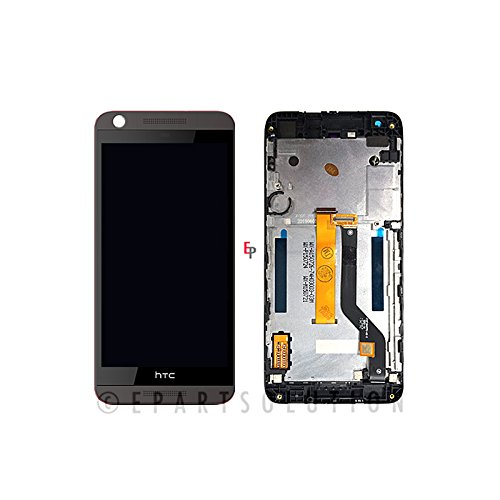 ePartSolution_HTC Desire 626S LCD Digitizer Touch Screen Assembly With Frame Black Replacement Part USA Seller (Htc Phone Parts compare prices)