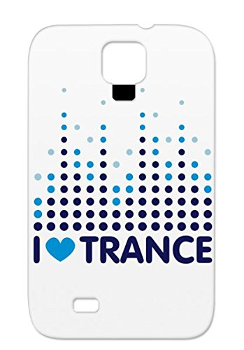 I Love Trance Tpu Music Cool Music Club Stylish Sound Color Indie Dance Electronica 2011 Dance Beep Equalizer Song Trance Light Religion Alvisp Bars Laser Dub Step Equalizer Wave Metal Dot Pixel Rock Anti-Scuff Navy Cover Case For Sumsang Galaxy S4