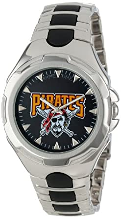 MLB Mens MLB-VIC-PIT Victory Series Pittsburgh Pirates Watch by Game Time