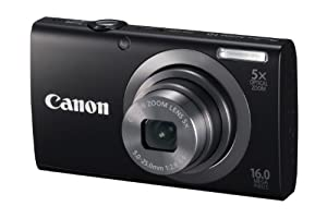Canon PowerShot A2300 16.0 MP Digital Camera with 5x Digital Image Stabilized Zoom 28mm Wide-Angle Lens with 720p HD Video Recording from Canon