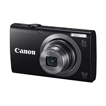 Set A Shopping Price Drop Alert For Canon PowerShot A2300 IS 16.0 MP Digital Camera with 5x Optical Zoom (Black)