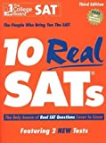 img - for By Henry Holt Books for Young Readers - 10 Real SATs, 3rd Edition: The Only Source of Real SAT Questions Cover to Cover (3rd edition, revised) (3/16/03) book / textbook / text book