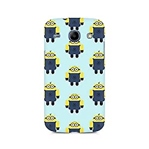 Motivatebox- Minion Love Premium Printed Case For Samsung Grand Duos 9082 -Matte Polycarbonate 3D Hard case Mobile Cell Phone Protective BACK CASE COVER. Hard Shockproof Scratch-