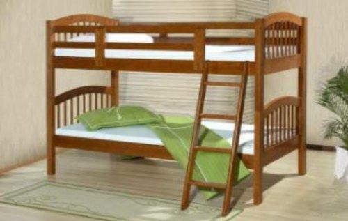 Acme 37115_Kit Honey Oak Finish Twin/Twin Bunk Bed front-853839