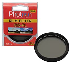 Photron 52.0MM SLIM CIR-PL Circular Polarizer Lens Filter