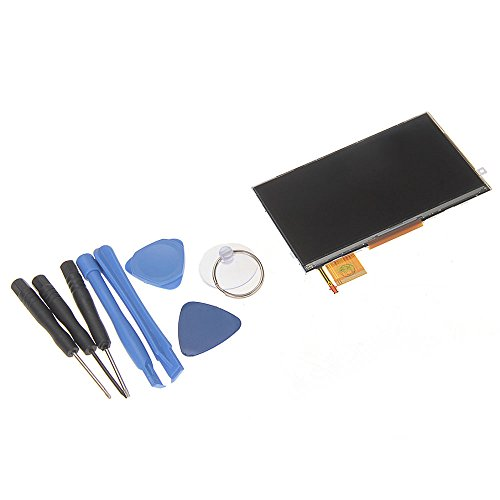 Lcd Display Viewer Monitor Screen For Psp 3000 3001 Slim Series 4.4 Inch + Tools