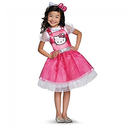 Hello Kitty Deluxe Child's Costume - Small (4-6X)