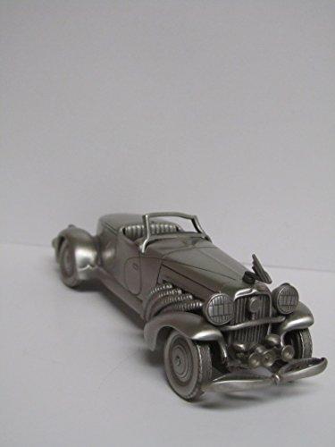 vintage-danbury-mint-1933-duesenberg-boattail-sj-pewter-car