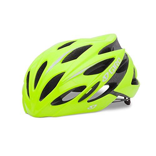 Giro Savant Cycling Helmet (Highlight Yellow, Large)