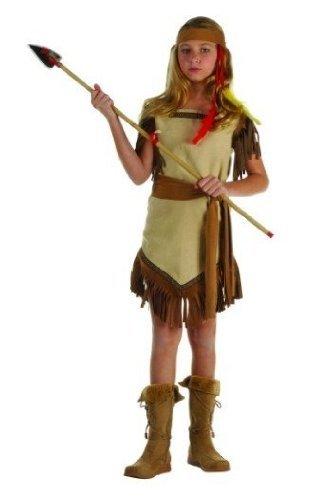RG Co (Girls Tan Native Princess Indian Costumes)