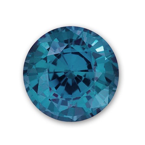 6.5mm Round Gem Quality Chatham Cultured Lab-Grown