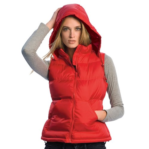 New B&c Zen Trendy Down Gilet Waterproof Padded Ladies Bodywarmer Jacket