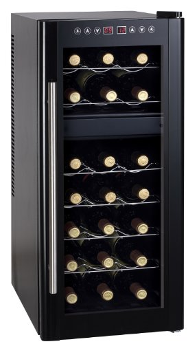 Spt Dual-Zone Thermo-Electric Wine Cooler With Heating, 21-Bottles