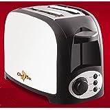 Chef Pro CPT542 750-Watt Pop-up Toaster (Silver/Black)