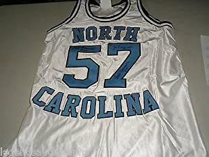 1957 3X Team Signed Custom UNC North Carolina Basketball JERSEY Auto RARE XL -... by Sports+Memorabilia
