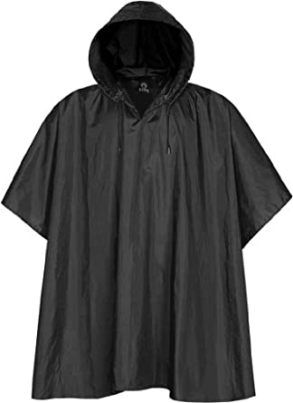 Stormtech - Packable Rain Poncho, Black One Size at Amazon Men's