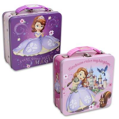 Princess Sofia Metal Lunch Box - Designs May Vary - 1