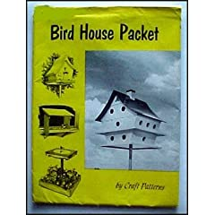 Bird House Packet 11 Designs by A. Neely Hall