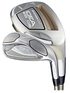 Adams Golf Idea A12OS 7-GW 4,5,6 Hybrid (Right Hand, Steel, Stiff Flex) by Adams Golf
