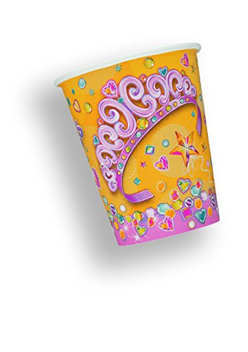 Paper Cups 9 Ounces 8/Pkg-Birthday Princess