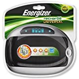 Brand New. Energizer Universal Battery Charger with Smart LCD 2-5Hrs Charging Time for AAA AA C D 9V Ref 629874