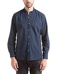 Shuffle Men's Casual Shirt (8907423019331_2021516201_Medium_Grey)