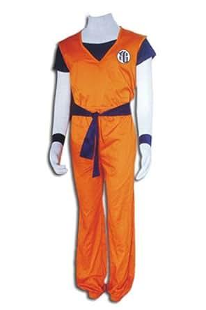 CTMWEB Anime Dragon Ball Z Cosplay Costume - Son Goku 1st Ver Set XX-Small
