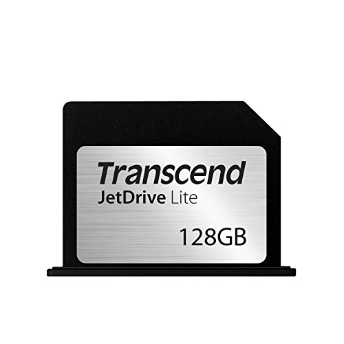 Transcend Macbook Pro専用 カードスロット対応拡張メモリーカード JetDrive Lite 360 128GB for Macbook Pro with Retina display 15