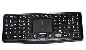 Rii Mini 2.4G Funk Tastatur(2. Generation) RT-MWK03 oder MWK03RF Layout aus DE QWERTZ für android mini PC / Google Android TV Win7 Vista Linux