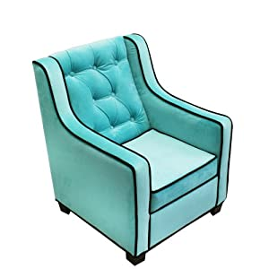 co Kids Tween Grand Chair, Aqua/Choco by Newco Kids