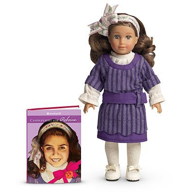 American Girl 25th Anniversary Rebecca Mini Doll and Book