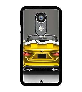 PRINTSWAG TELLOW CAR Designer Back Cover Case for MOTOROLA MOTO X2